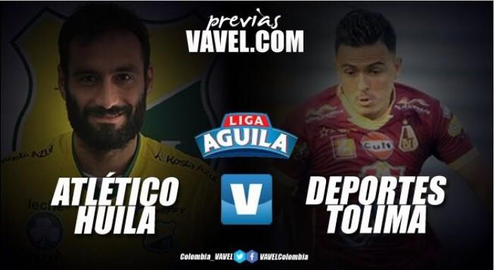 Previa: Atlético Huila Vs Deportes Tolima: clásico del 'Tolima grande' en su partido número 100