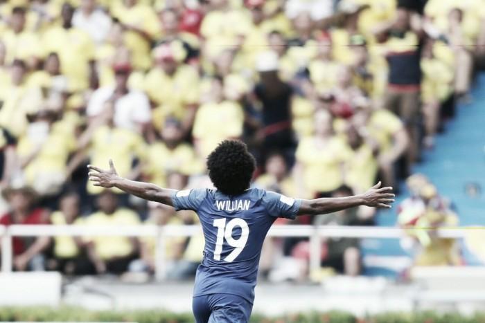 """Willian valoriza postura da Seleção Brasileira em empate: """"Queríamos a vitória, mas o time jogou bem"""""""