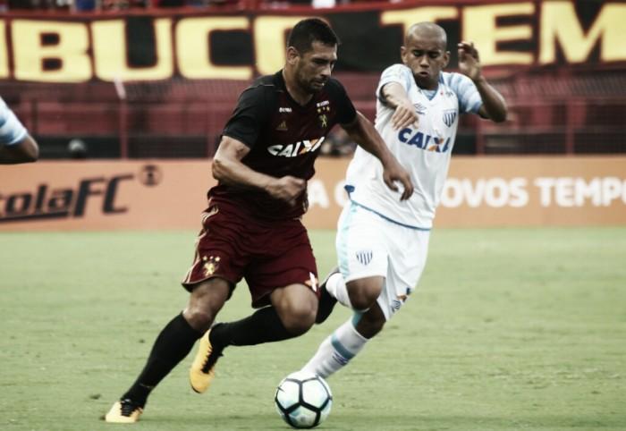 """Diego Souza se irrita com repórter após nova derrota do Sport: """"Você quer algum problema comigo?"""""""