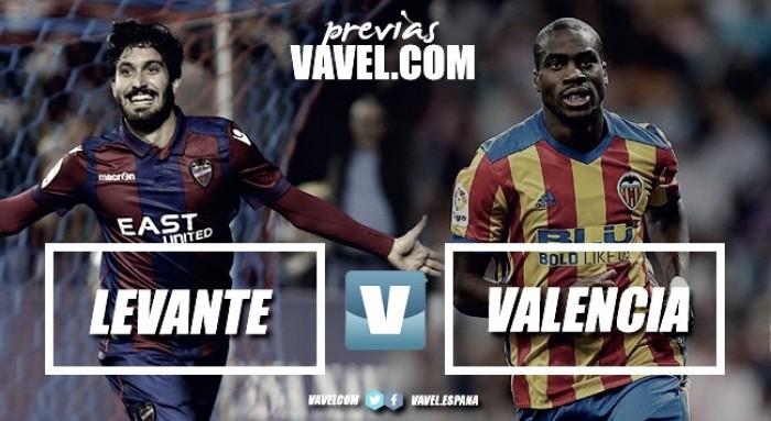 Previa Levante UD - Valencia CF: volver a ganar un derbi