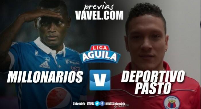 Millonarios - Deportivo Pasto: A levantarse como el fénix