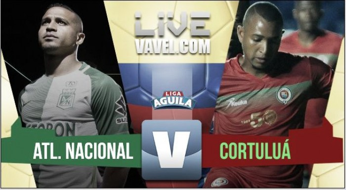 Atlético Nacional se impuso ante Cortuluá en el adelanto de la fecha 16