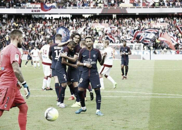 Avassalador, PSG massacra Bordeaux e amplia liderança no Campeonato Francês