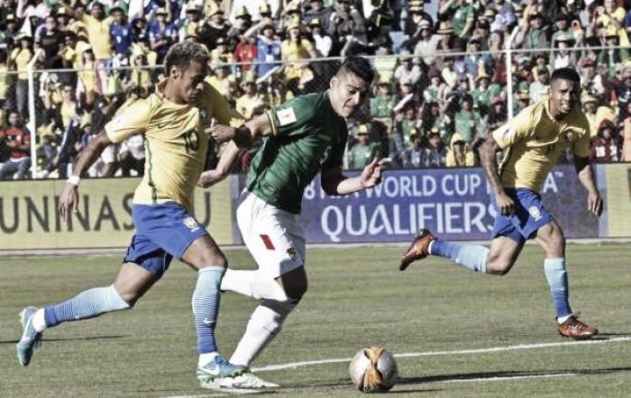 Brasil pressiona, mas goleiro da Bolívia garante empate sem gols