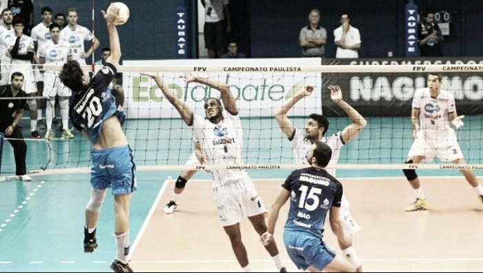 Resultado Corinthians Taubaté pela decisão do Paulista Masculino de Vôlei (2-3)