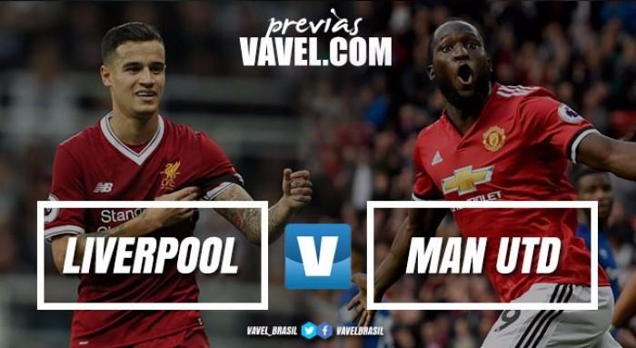 Liverpool e Manchester United entram em campo no clássico da rodada na Premier League
