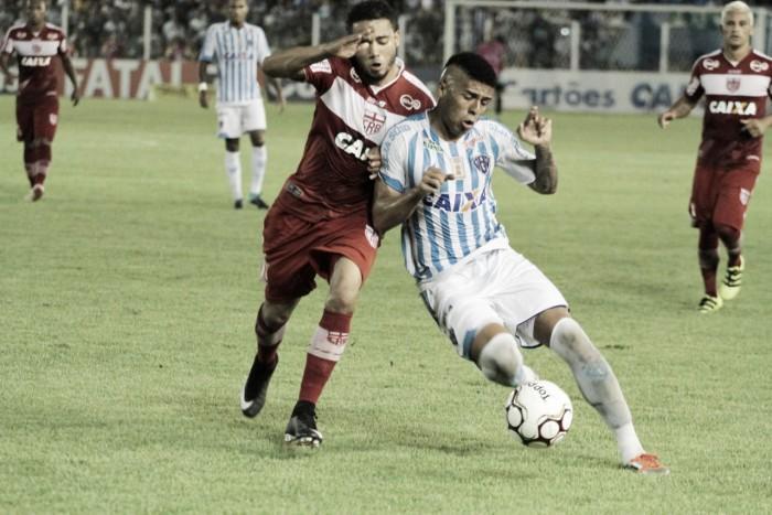 Em jogo com etapas distintas, Paysandu e CRB empatam sem gols