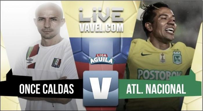 Atlético Nacional ganó como visitante y llegó a la punta de la liga
