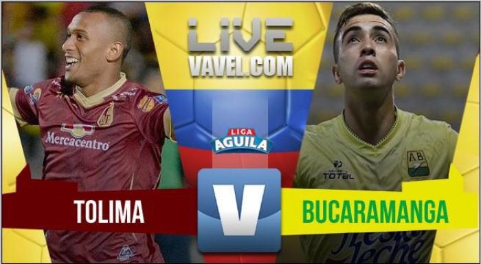 Deportes Tolima Vs Atlético Bucaramanga por la jornada 16 de la Liga Águila II