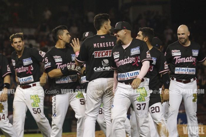Con gran labor de González, Culiacán se lleva la serie ante Charros