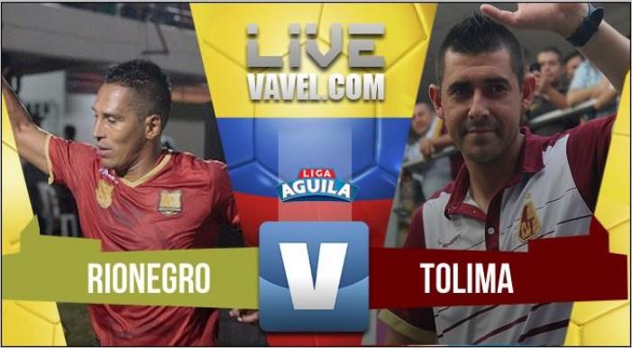 Tolima le sacó un punto y paró la racha de victorias a Rionegro