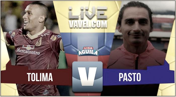 Deportes Tolima vs Deportivo Pasto en vivo y en directo online por la Liga Águila 2017-2 (3-0)