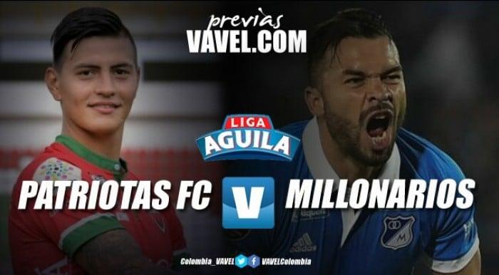 Patriotas FC - Millonarios: Albiazules buscan su clasificación a cuartos de final
