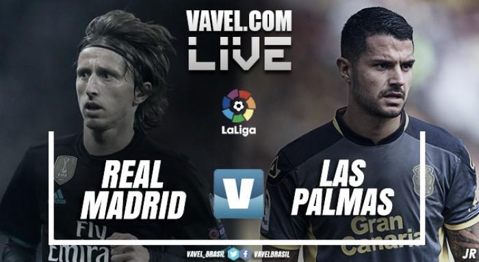 Resultado Real Madrid 3x0 Las Palmas pelo Campeonato Espanhol 2017