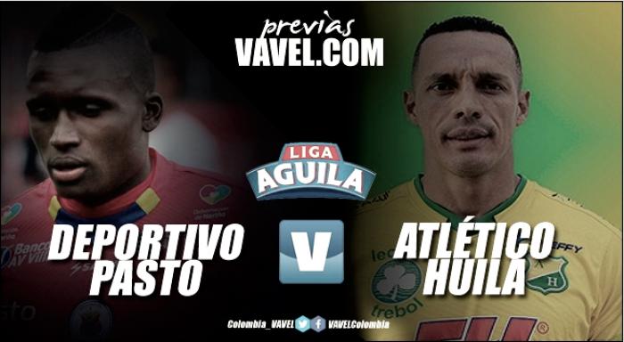 Previa Deportivo Pasto vs Atlético Huila: reposición de la fecha 17