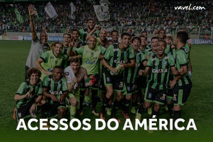 De volta à elite: relembre todos os acessos do América-MG e campanhas na Série A