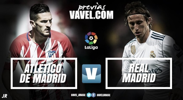 Resultado Atletico de Madrid x Real Madrid pelo Campeonato Espanhol 2017 (0-0)