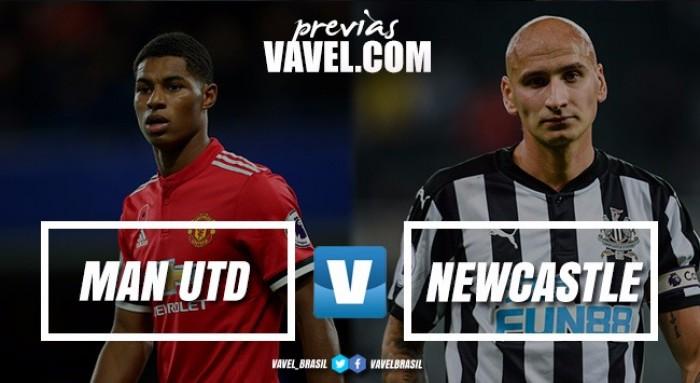 United e Newcastle se enfrentam no Old Trafford com ambos precisando de reabilitação