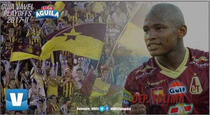 Guía VAVEL 'Playoffs' Liga Águila 2017-II: Deportes Tolima