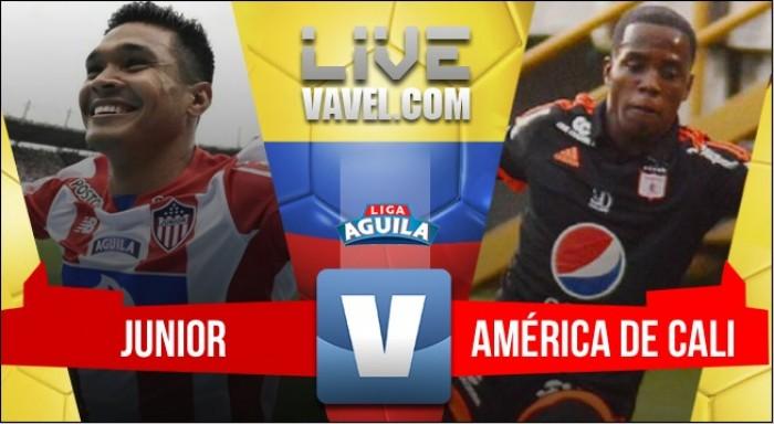Sorpresa: América elimina al Junior en Barranquilla