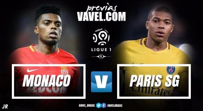 Em momentos opostos, Monaco recebe líder PSG visando diminuir vantagem do rival