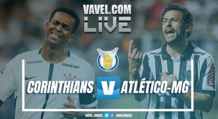 Resultado Corinthians x Atlético-MG pelo Campeonato Brasileiro 2017 (2-2)