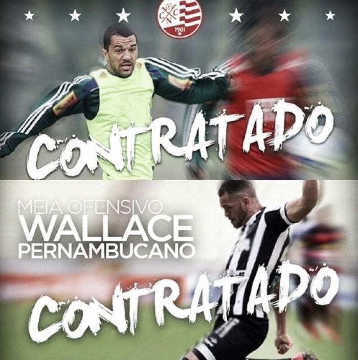 Thiago Cunha e Wallace são os primeiros reforços do Náutico para temporada de 2018