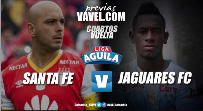 Previa Santa Fe vs Jaguares: el 'león' busca en casa clasificar a la semifinal de Liga