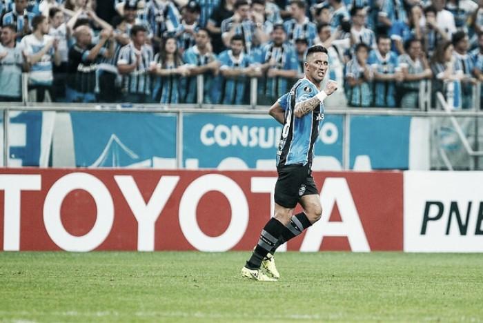 Do ostracismo ao título da América: Barrios deixa Palmeiras, e conquista Libertadores pelo Grêmio