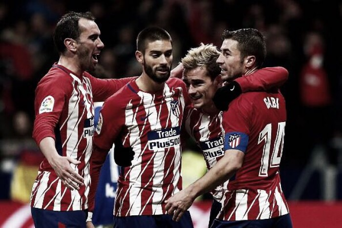Griezmann marca no fim e Atlético de Madrid vence Real Sociedad de virada