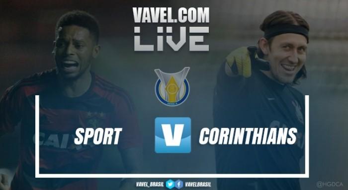 Resultado Sport x Corinthians pelo Brasileirão 2017 (1-0)