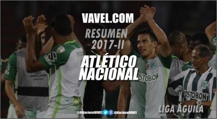 Resumen Atlético Nacional 2017-II: Liga Águila, no pudo revalidar el título y se quedó en cuartos de final