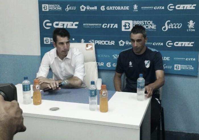 """Gastón Esmerado: """"Estoy muy contento por el rendimiento de estos cuatro partidos"""""""