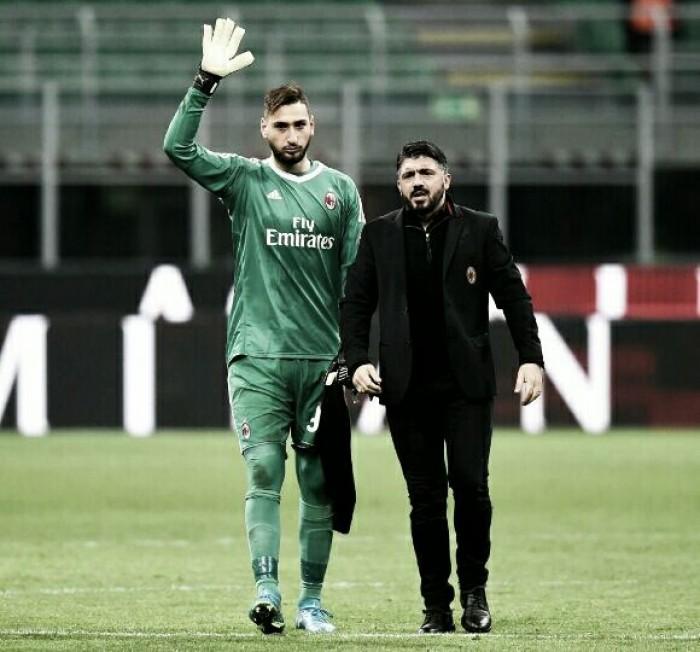 "Gattuso: ""Tengo al mejor portero del mundo, lo protegeré"""