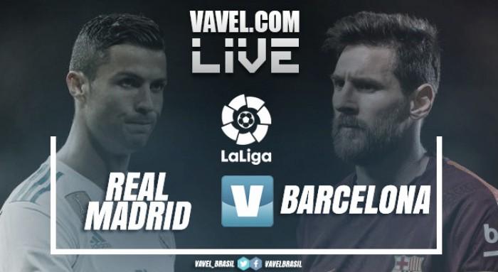 Resultado Real Madrid 0x3 Barcelona pelo Campeonato Espanhol 2017