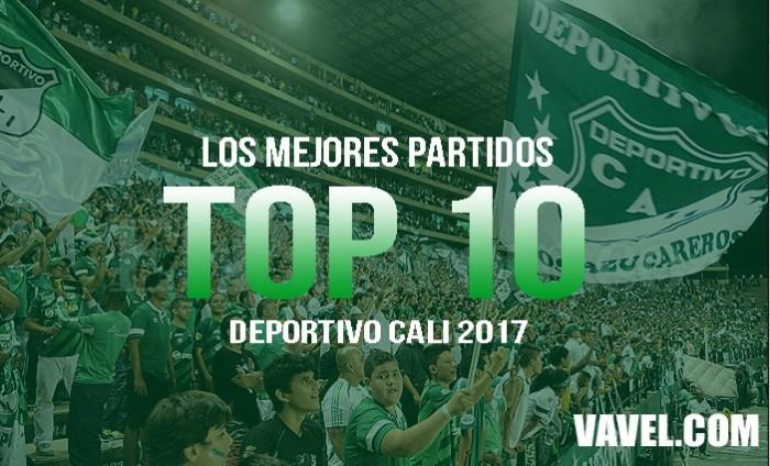 Resumen Deportivo Cali año 2017: Los 10 mejores partidos del año