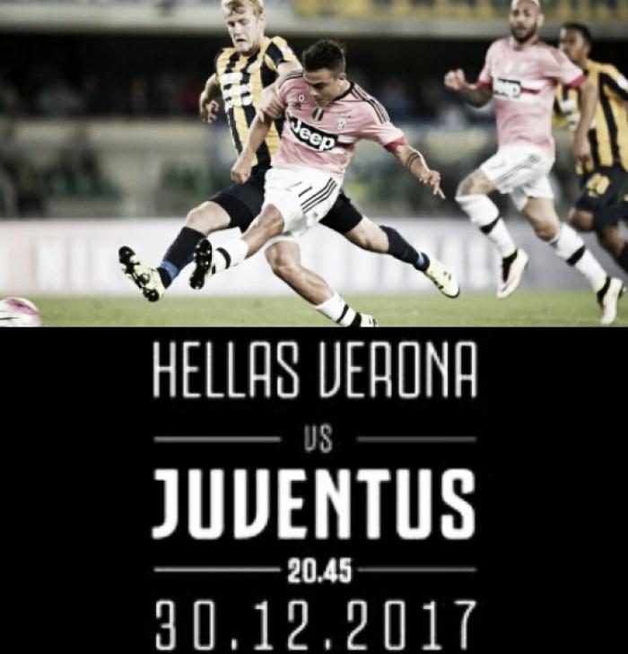 Previa Hellas Verona - Juventus: a por los tres puntos antes de las doce uvas