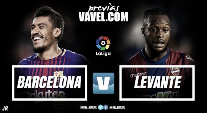 No jogo 400 de Messi no Espanhol, líder Barcelona recebe Levante