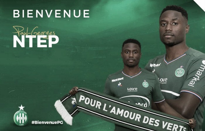 Saint-Étienne anuncia talentoso ponta Ntep, ex-Wolfsburg