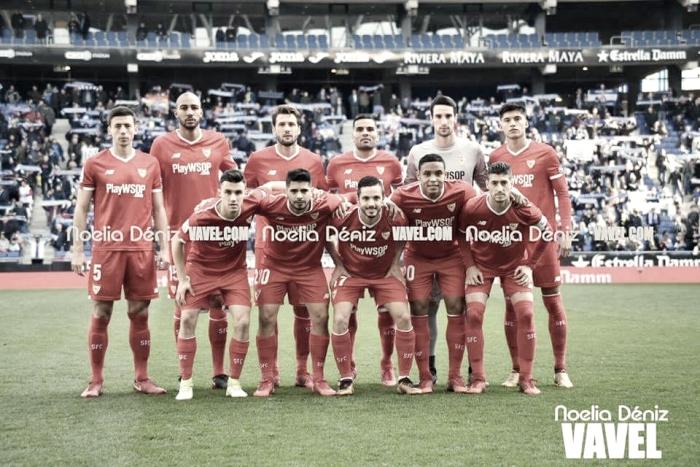 RCD Espanyol - Sevilla FC: puntuaciones del Sevilla FC, jornada 20 de La Liga Santander