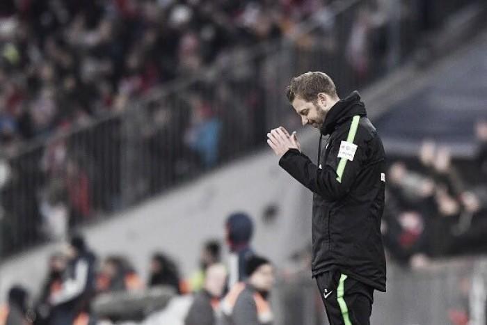 Técnico Florian Kohfeldt elogiou postura do Bremen mesmo com derrota sobre o Bayern