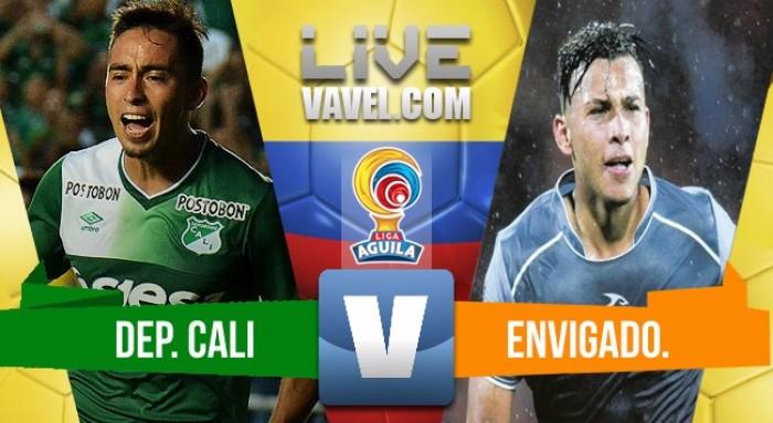 Deportivo Cali vs Envigado en vivo minuto a minuto en Liga Águila 2018 (0-0)