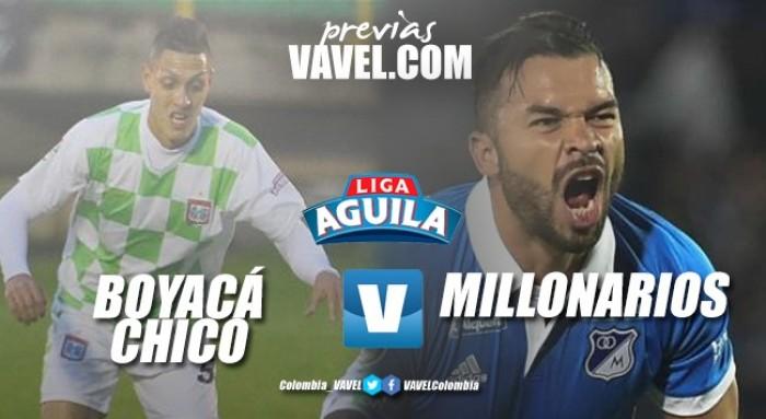 Previa Boyacá Chicó Vs Millonarios: a defender el título