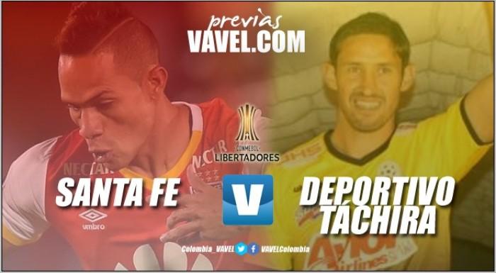 Previa: Santa Fe Vs Táchira, el rojo busca asegurar su clasificación a la tercera ronda de la Copa Libertadores