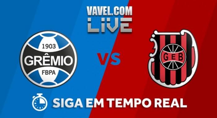 Resultado Grêmio x Brasil-RS no Campeonato Gaúcho 2018 (2-1)