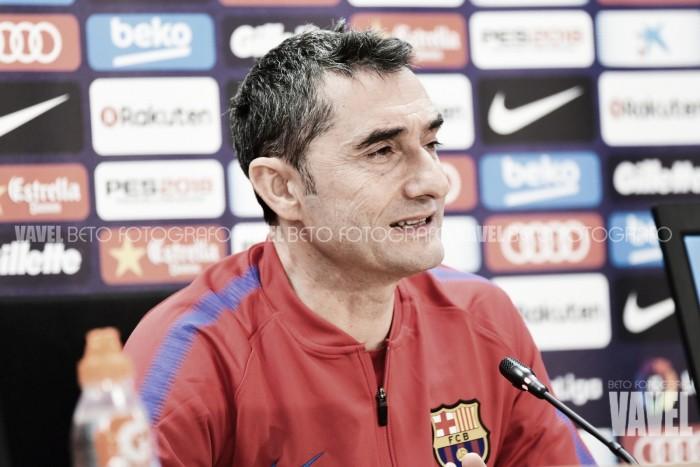 """Ernesto Valverde: """"Es un partido peligroso"""""""