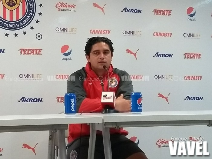 """Luis Camacho: """"Nos quedan ocho partidos para cumplir nuestro objetivo"""""""