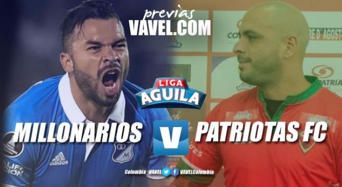 Previa Millonarios vs. Patriotas: estrenando títulos