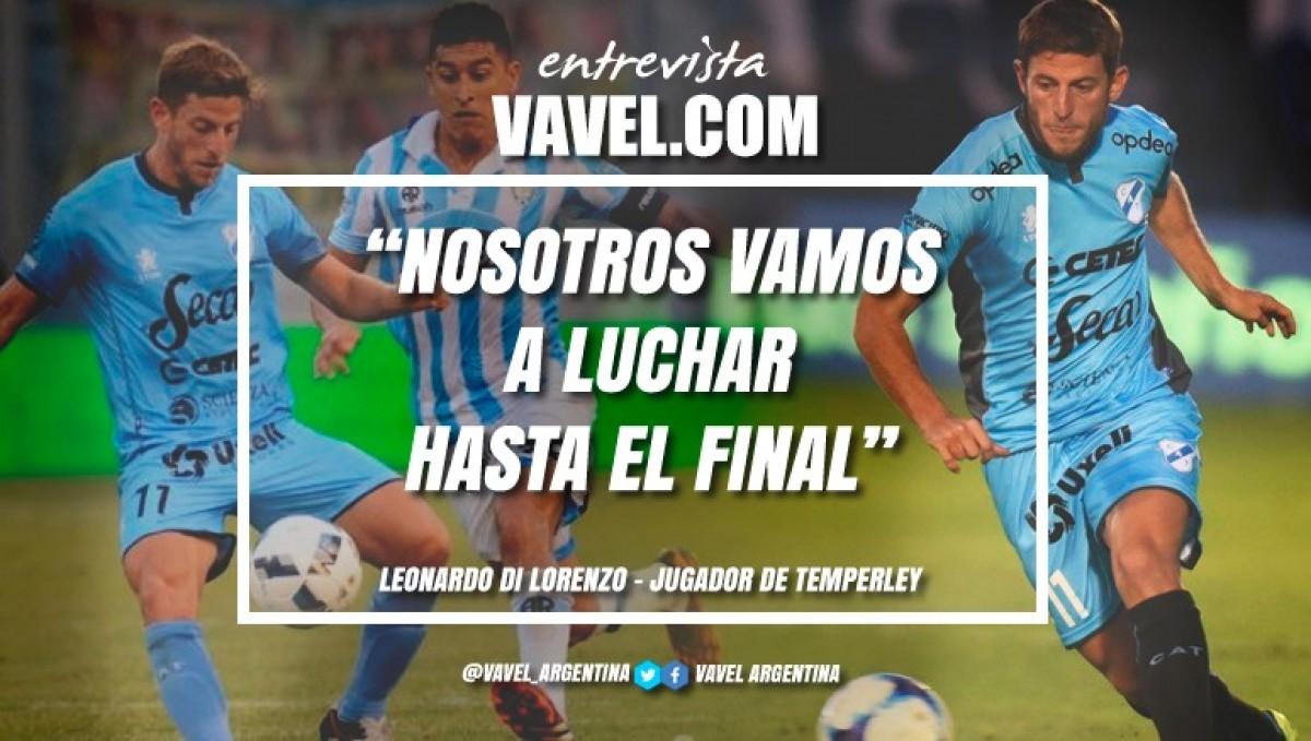 """Leonardo Di Lorenzo: """"Que Josué Ayala tenga esas atajadas muy buenas te genera mucha confianza y eso es muy importante para nosotros"""""""