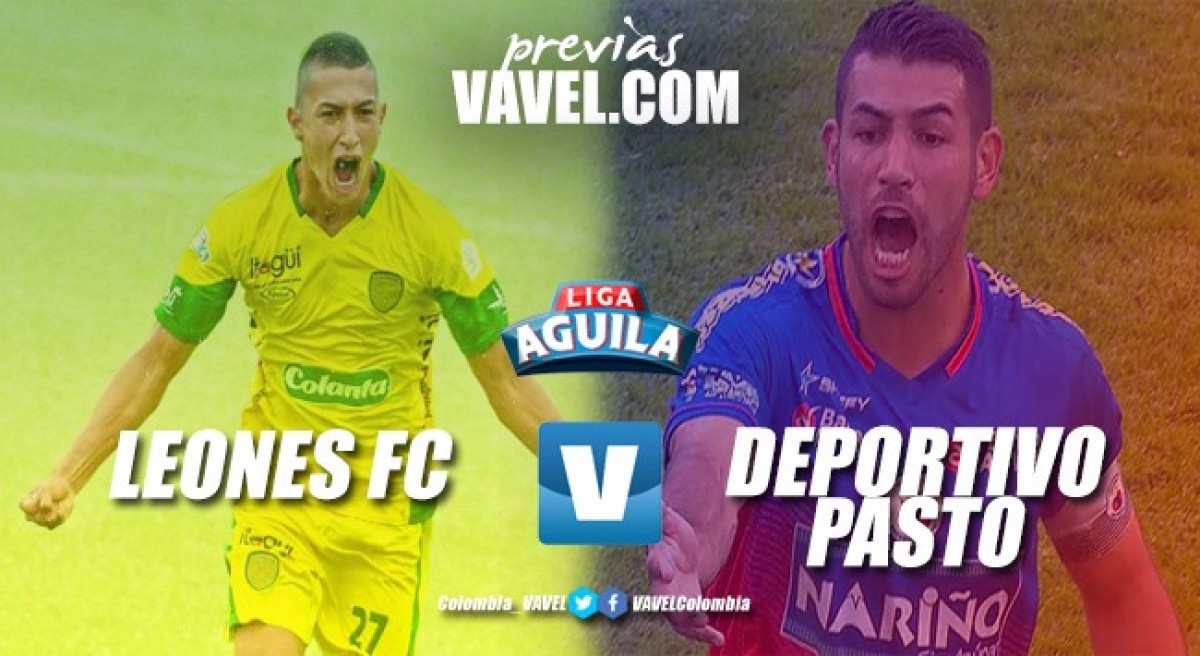 Previa Leones FC vs Deportivo Pasto: duelo sin historial